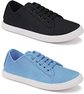 Shoefly Combo Pack of 2 Latest Collection Casual Loafer Sneakers Shoes for Women