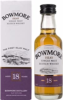 Bowmore 18 Years Old mit Geschenkverpackung Whisky 1 x 0.05 l