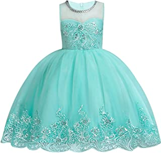 kids Showtime Girls Dresses Pageant Wedding Bridesmaid Princess Party Flowers Ball Gown