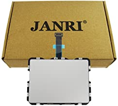 """JANRI Trackpad Touchpad & Flex Cable for MacBook Retina MBPR 13"""" 13.3 inch MacbookPro12,1Early A1502 2015 MF841LL/A MF839LL/A MF843LL/A MF840LL/A 821-00184-A 810-00149-A 810-00149-04 821-00721-A"""