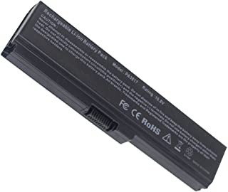 YNYNEW Replacement Laptop Battery for Toshiba Satellite C650D C660D C670 L310 L311 L755D-S5204 L755-S5246 L755-S9520D A665-S6050 PA3728U-1BRS PA3816U-1BRS PABAS230