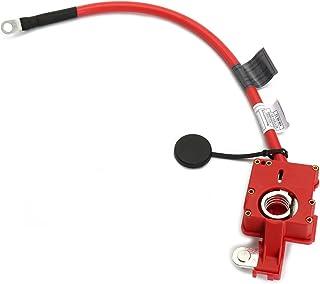 1 pair Cable batterie 25mm2 C/âble de Batterie 1.5m 2 c/âbles positifs et n/égatifs 25mm2 de cuivre pur et Batterie Bornes de Batterie Connecteurs de Batterie