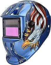 BigBig Style Casco per Saldatura Energia Solare Casco per Saldatura Oscuramento Automatico E Protezione Degli Occhi Oscurante Maschera Protettiva Saldatore Maschera per Il Viso Cappello Sicuro