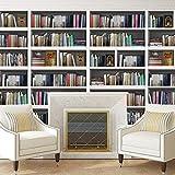 walplus-adesivi da parete libreria libreria da parete decorazioni rimovibile autoadesivo adesivi decorazione per la casa, multicolore