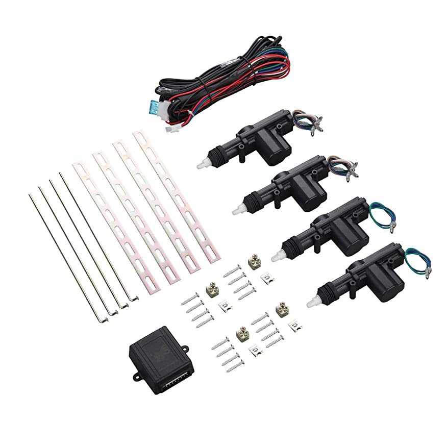 DS18 RC-CLS4 Red Cobra Central Lock 4 Door System, One Master and Three Slaves Control Module