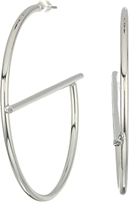GUESS Large G Tube Hoop Earrings