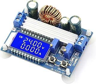CenryKay DC-DC Buck Boost Converter Display 5V-30V to 0.5 – 30V 3A LCD Digital Voltmeter Ammeter Adjustable Boost Drop (Bu...