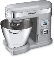 Renewed White Cuisinart SM70FR 7-Quart 12-Speed Stand Mixer with Scale Bundle