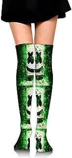 ロングフルレングスソックス Marshmello ソックス、ロングソックス、ショートスカート、ハイヒール、スニーカーと組み合わせることができます
