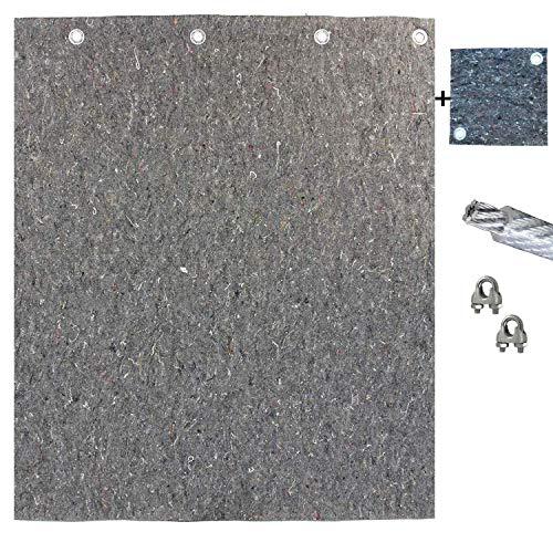 Pfeilfangmatte Maximum Safe 4m (breit) x 2m (hoch) inkl. Zubehör & BACKSTOP: 25cm x 25cm