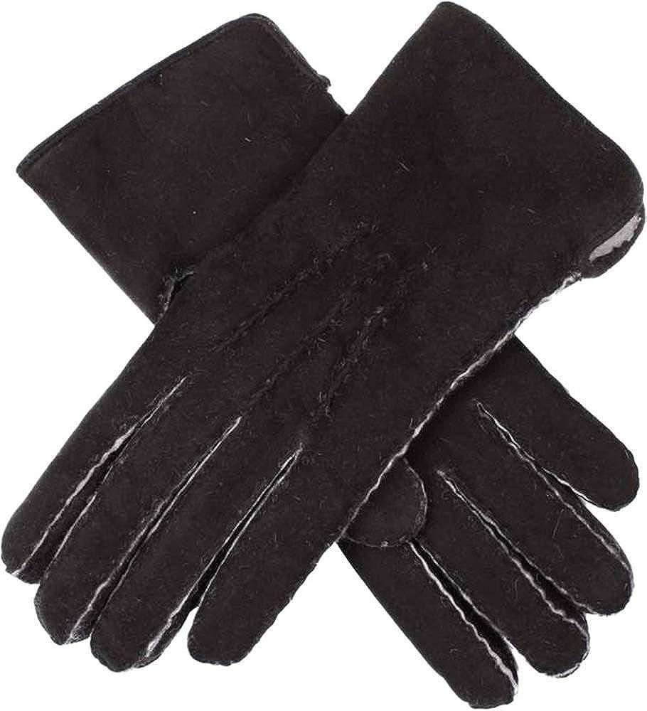 Dents Womens Hannah Lambskin Gloves - Black