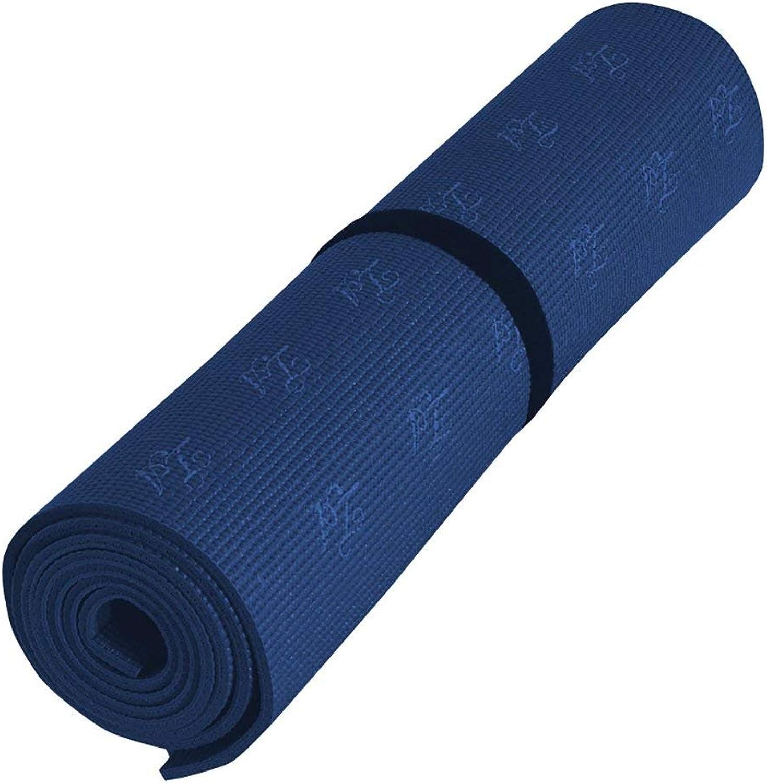 KYCD Yogamatte, Rutschfest, professionelles Yogamatte, umweltfreundliches Material, Yogamatte (L B H H)  183 cm 61 cm 0,6 cm