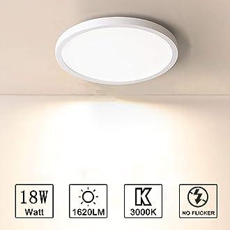 Yafido Plafonnier LED 48W UFO Panel Carr/é Lampes de Plafond Moderne Ultra-mince LED Lampe 4320LM Blanc Chaud 3000K Facile /à installer Applicable /à Salle de Cuisine Salon Balcon 30 30 4cm