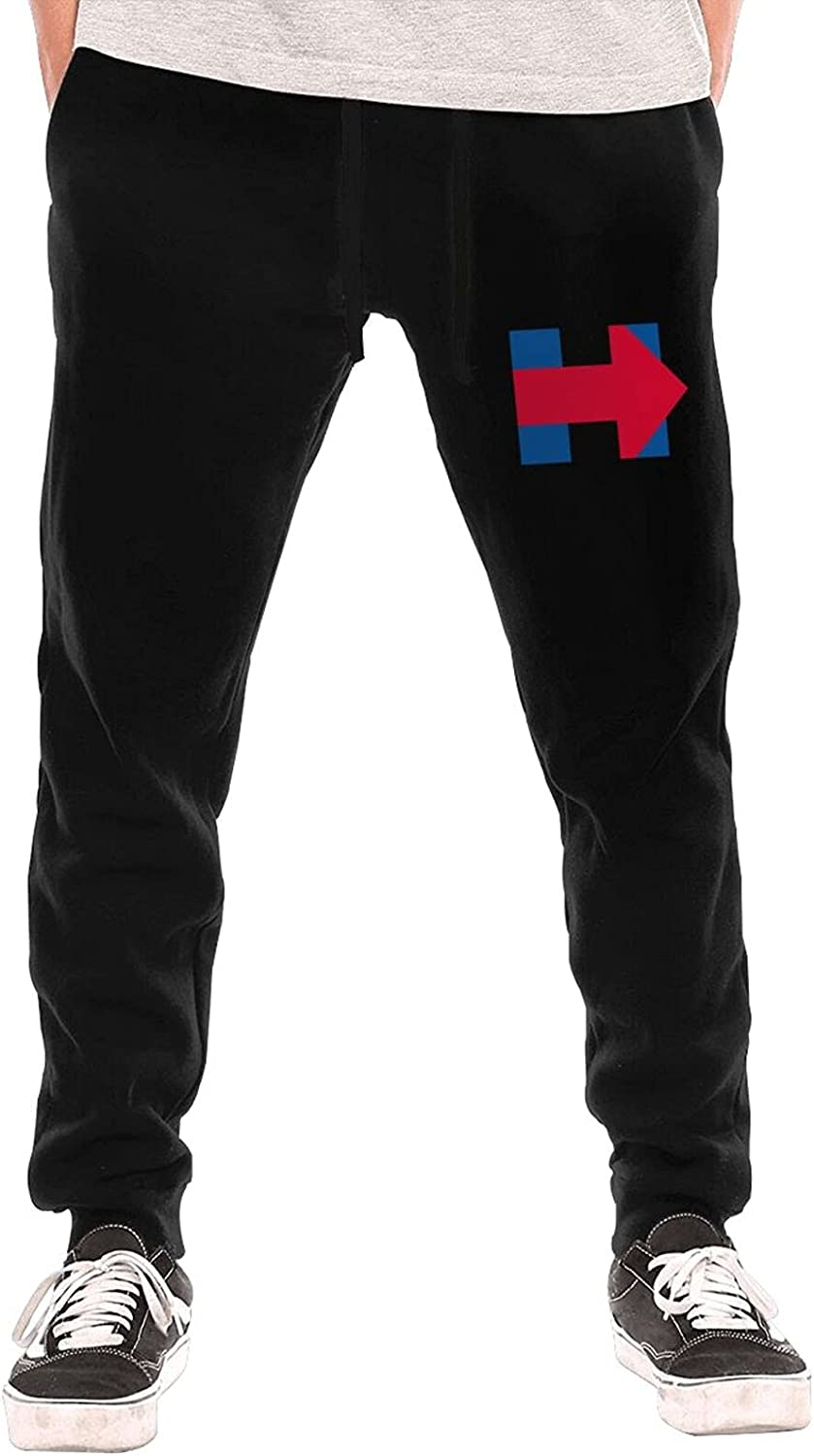 ! Super beauty product restock quality top! Hillary Clinton Logo Men Soft Max 55% OFF Jogger with Boys Trousers Po Pants