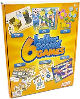 Junior Learning Different Letter Sound Games (Set of 6)