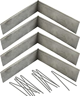 Coyote Landscape Products 636101 RawEdge Landscape Edging, 18 Gauge, Raw Steel