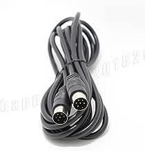FidgetGear Serial Cable for Commodore 64 C64 Disk Drive or Printer 1541 1571 9FT Black