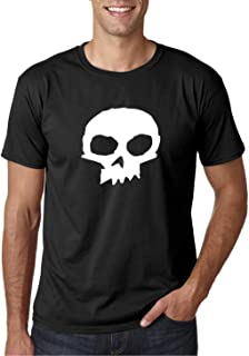 SID Philips Skull Shirt - Camiseta Negra Hombre Manga Corta