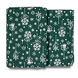 Gotocut The Yard Strickstoff mit Weihnachtsmotiv, 150 x 94