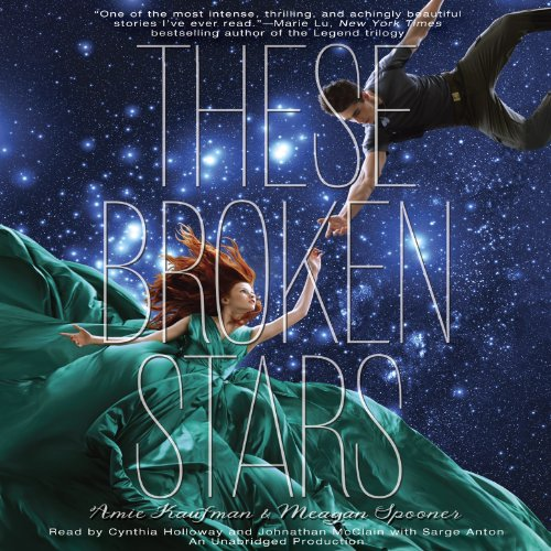 These Broken Stars                   By:                                                                                                                                 Amie Kaufman,                                                                                        Meagan Spooner                               Narrated by:                                                                                                                                 Cynthia Holloway,                                                                                        Johnathan McClain,                                                                                        Sarge Anton                      Length: 11 hrs and 15 mins     670 ratings     Overall 4.3