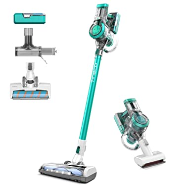 Tineco A11 Master Cordless Stick Vacuum Cleaner, Ultra Powerful Suction, Mullti-Surface Cleaning, Great for Pet Hair, Emerald Green
