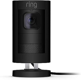 Videocamera di sicurezza Ring Stick Up Cam Elite HD, con sistema di comunicazione bidirezionale, colore nero, compatibile ...