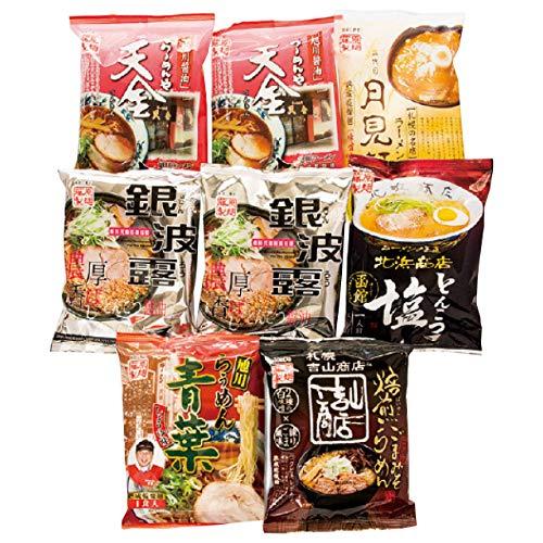 北海道繁盛店対決ラーメン8食 HTR-20 2020 歳暮 冬 ギフト (無地のし)