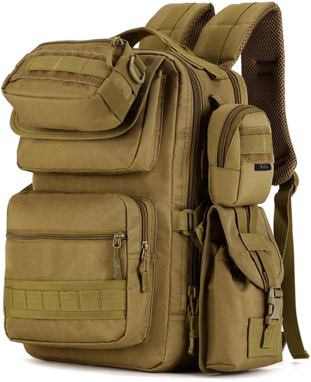 HUDUI Camouflage Rucksack Taktik Pack 25L Armee Fans Angriff Feld Mnner und Frauen Wüste Jagd Wandern Rucksack Sportrucksack