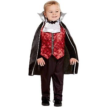 Smiffys 50798T1 - Disfraz de vampiro para niños, color rojo, edad ...