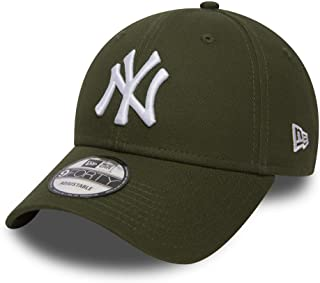 new styles c5e1d 17588 New Era Men s MLB Basic NY Yankees 9Forty Adjustable Baseball Cap