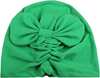 Lovely Infant Baby India Style Hat Girls Velvet Bowknot Hat Winter Warm Soft Hat