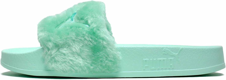 PUMA Women's FENTY x PUMA Faux Fur Slides