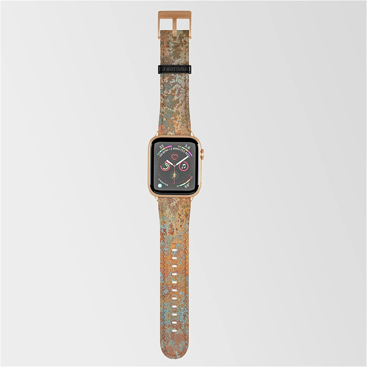 Vintage Rust Copper and Blue by Finally resale start Megan New products world's highest quality popular on Morris Smartwatch Band