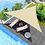 Windscreen4less 2' x 2' x 2' Sun Shade Sail Canopy in Beige with Commercial...