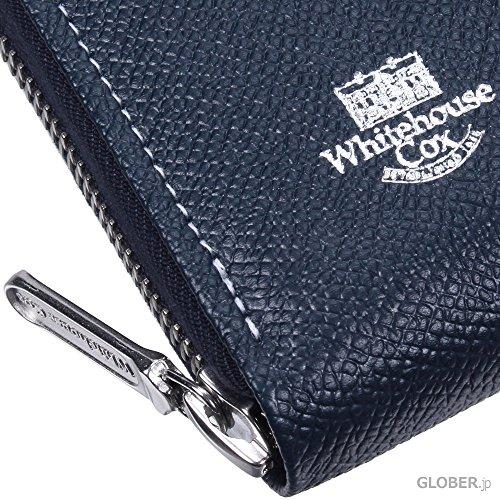 ホワイトハウスコックス(WhitehouseCox)LondonCalfS2622ロングジップウォレットタン・ハバナ【正規販売店】