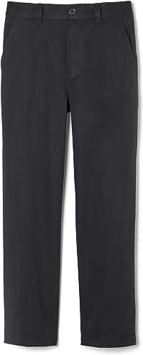Gap Boys Khaki Straight Stretch School Uniform Pants 12 Husky