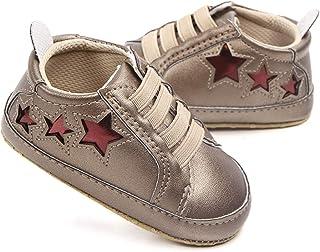f4490f87a84f1 Nagodu Zapatos Tipo Tenis para Bebe niña Color Cobre con Estrellas