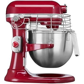 KitchenAid 5KSM7990XEER - Robot de cocina (Rojo, Metal): Amazon.es: Hogar