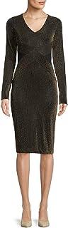 فستان منسوج بشرائط لامعة Rachel Roy للنساء