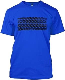 Tire Track - Street Racing Car Turbo Men's T-Shirt