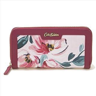キャスキッドソン Cath Kidston ラウンドファスナー長財布 Aster Wallet レディース Paintbox Flowers Soft Pink ピンクフラワー柄 784115 [並行輸入品]