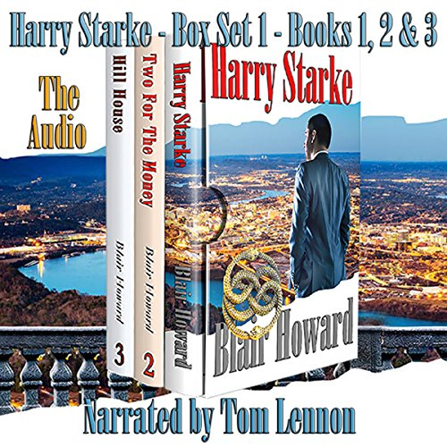The Harry Starke Series: Books 1-3 audiobook cover art