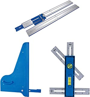 Kreg Accu-Cut XL Circular Saw Track Guide with a Square-Cut and Multi-Mark Measuring Tool - KMA3700, KMA2600, KMA2900