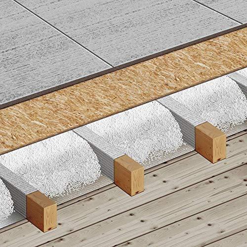 Schüttdämmung Hohlraumdämmung Granulat Einblasdämmung Dachdämmung Schüttung (960 Liter - 4 Karton)
