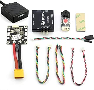 Radiolink Mini PIX F4 Flight Controller M8N GPS Voltage Module 915mHz Telemetry Buzzer LED (Mini PIX with GPS)