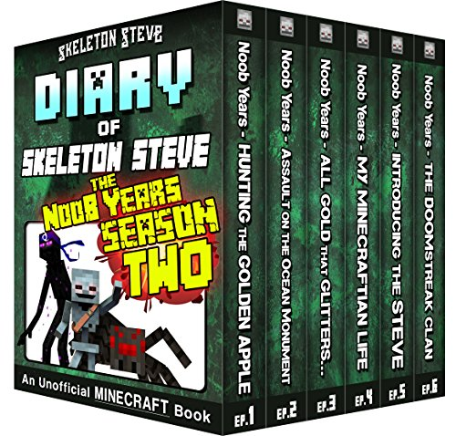Minecraft Diary of Skeleton Steve the Noob Years - FULL Season Two (2): Unofficial Minecraft Books for Kids, Teens, & Nerds - Adventure Fan Fiction Diary ... Diaries - Bundle Box Sets) (English Edition)