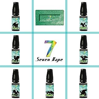 E Liquid, Seven Vape 7X10ml E-Liquido 70VG/30PG Hielo Menta Liquido Vaper