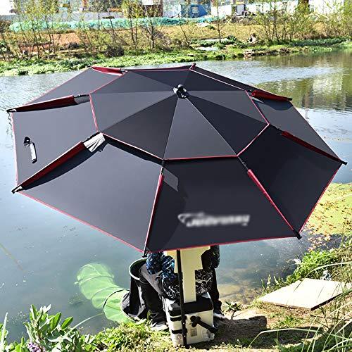 Outdoor-Sonnenschirm Kann Frei Verstellbarer Winkel Sonnenschirm Mit Kippfunktion Markt Tischschirm Für Pool Kleinen Bistro Garten Rasen (Keine Basis)