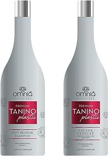 NEW Brazilian Omnia Tanino-Plastie Hair Straightener