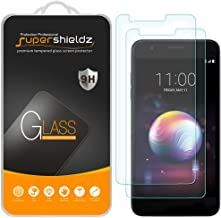 (2 Pack) Supershieldz for LG Premier Pro LTE Tempered Glass Screen Protector Anti Scratch, Bubble Free
